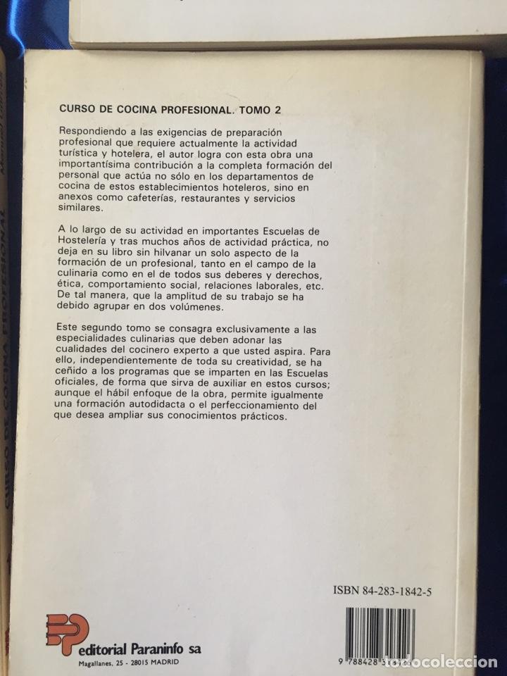 Libros: Cocina profesional lote 4 - Foto 5 - 167778298