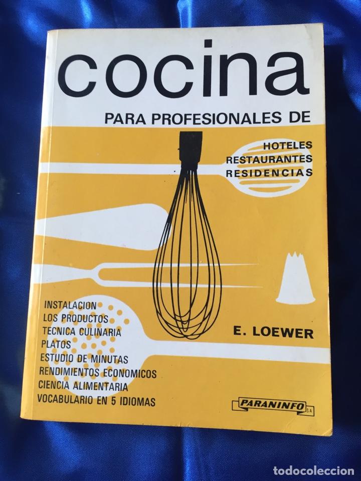 COCINA PARA PROFESIONALES DE HOTELES RESTAURANTES Y RESIDENCIAS (Libros Nuevos - Educación - Aprendizaje)