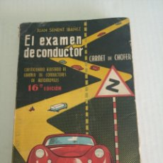 Libros: EL EXAMEN DEL CONDUCTOR. Lote 171224965