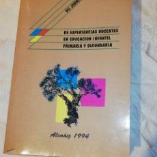 Libros: VII JORNADAS DE EXPERIENCIAS DOCENTES.... Lote 171350060