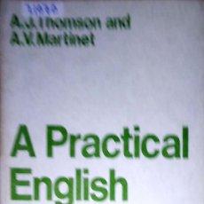 Livres: 23752 - A PRACTICAL ENGLISH GRAMMAR - EXERCICES 5 - AUXILIARY VERBS - AÑO 1964 - EN INGLES. Lote 171853835