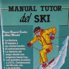 Libros: @ MANUAL DEL SKI- TUTOR - PLANO PISTAS- VALDELINARES @. Lote 173193502