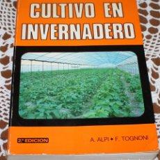 Libros: CULTIVO EN INVERNADERO. Lote 173549370