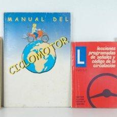 Libros: CUATRO LIBROS AUTOESCUELA DE CONDUCTORES 1960/ 60 / 70/ 2001. Lote 174245480