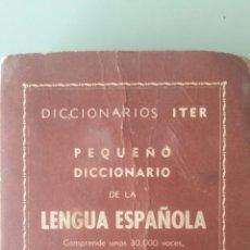 Libros: DICCIONARIO LENGUA ESPAÑOLA 1954 IMPRESO EN ESPAÑA POR GRÁFICA RAMÓN SOPENA. Lote 178004063