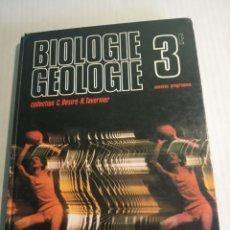 Libros: BIOLOGIE GEOLOGIE. Lote 178174772