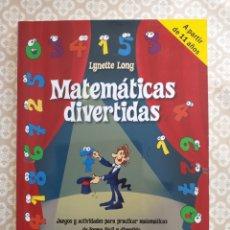 Libros: MATEMÁTICAS DIVERTIDAS: JUEGOS Y ACTIVIDADES PARA PRACTICAR MATEMÁTICAS DE FORMA FÁCIL Y DIVERTIDA. Lote 178643295