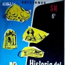 Livres: 25198 - HISTORIA DEL ARTE Y DE LA CULTURA - 6º CURSO - EDICIONES SM - POR V. SAIZ CONDE - AÑO 1973. Lote 178763411