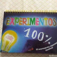 Libros: 100 % EXPERIMENTOS, LIBRO-ATRIL, DE MARC BEYNIÉ. Lote 179101581