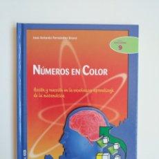 Libros: NÚMEROS EN COLOR (LIBRO Y CD)- JOSÉ ANTONIO FERNÁNDEZ BRAVO. Lote 179165405