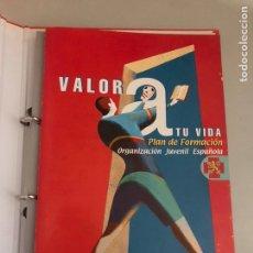 Libros: VALORA TODA LA VIDA PLAN DE FORMACIÓN. Lote 180901897