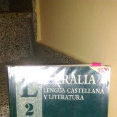 Libros: LIBRO DE TEXTO LITERALIA MC GRAW HILL 2 BACHILLERATO. Lote 181981446