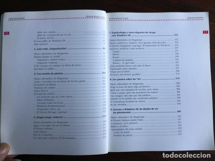 Libros: Windows 98 para torpes. Una guía práctica y didáctica para aprender informática básica - Foto 4 - 182109083