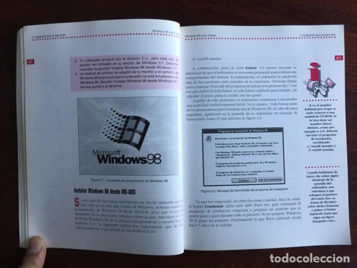 Libros: Windows 98 para torpes. Una guía práctica y didáctica para aprender informática básica - Foto 7 - 182109083