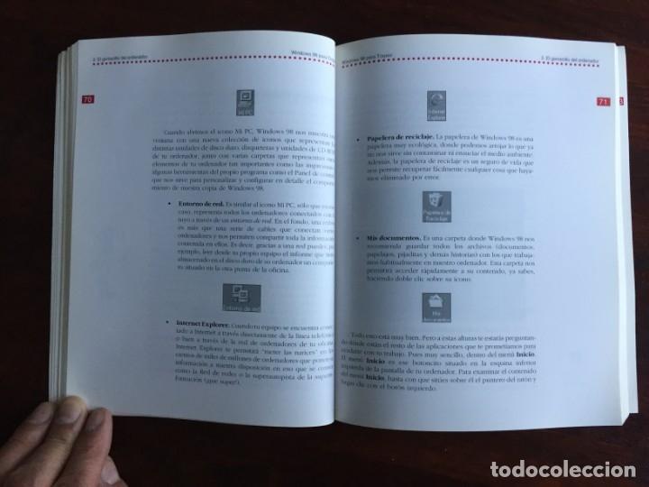 Libros: Windows 98 para torpes. Una guía práctica y didáctica para aprender informática básica - Foto 9 - 182109083