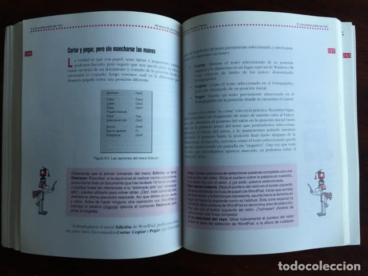 Libros: Windows 98 para torpes. Una guía práctica y didáctica para aprender informática básica - Foto 16 - 182109083
