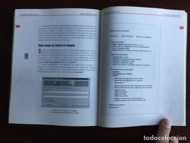 Libros: Windows 98 para torpes. Una guía práctica y didáctica para aprender informática básica - Foto 18 - 182109083