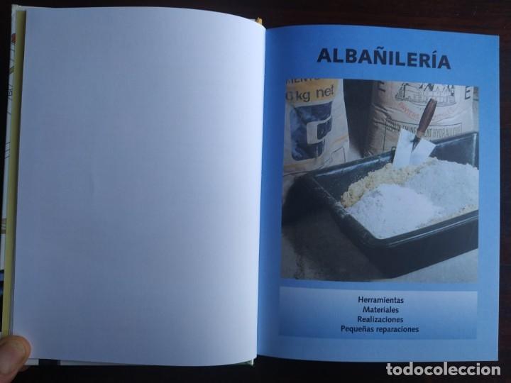 Libros: El ABC del Bricolaje en 7 capítulos albañilería, carpintería, electricidad, empapelado, fontanería, - Foto 3 - 215224322