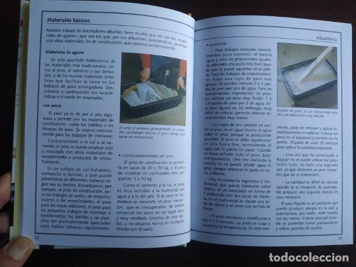 Libros: El ABC del Bricolaje en 7 capítulos albañilería, carpintería, electricidad, empapelado, fontanería, - Foto 4 - 215224322