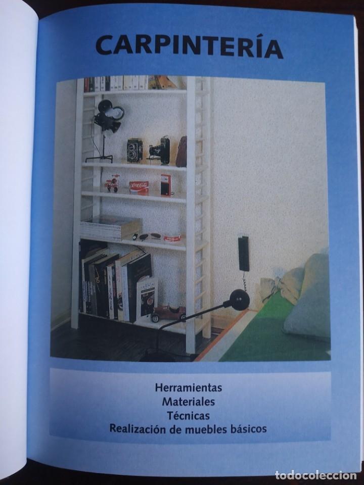 Libros: El ABC del Bricolaje en 7 capítulos albañilería, carpintería, electricidad, empapelado, fontanería, - Foto 5 - 215224322