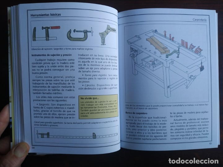 Libros: El ABC del Bricolaje en 7 capítulos albañilería, carpintería, electricidad, empapelado, fontanería, - Foto 6 - 215224322