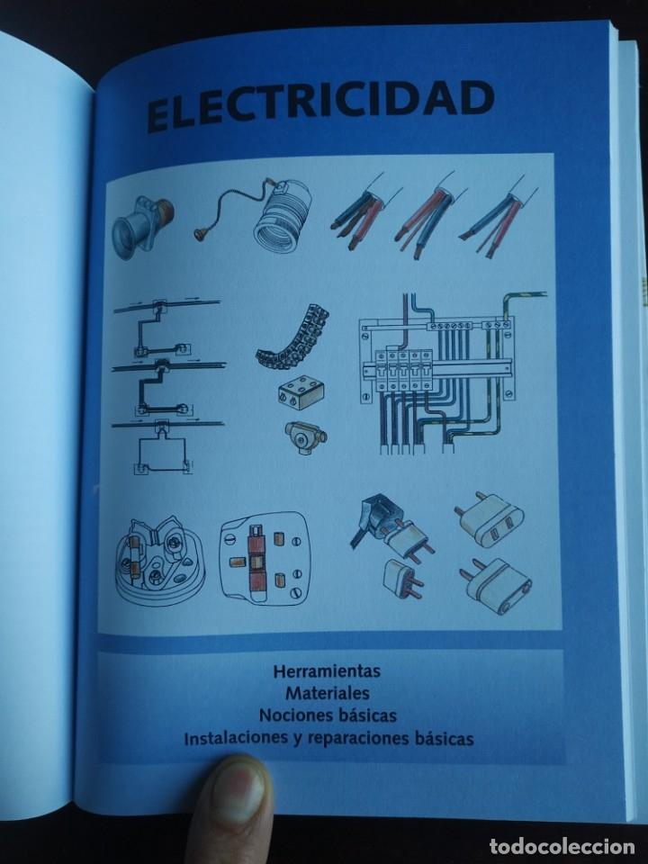 Libros: El ABC del Bricolaje en 7 capítulos albañilería, carpintería, electricidad, empapelado, fontanería, - Foto 7 - 215224322