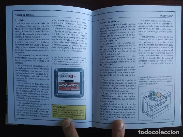 Libros: El ABC del Bricolaje en 7 capítulos albañilería, carpintería, electricidad, empapelado, fontanería, - Foto 8 - 215224322
