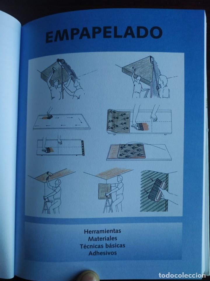 Libros: El ABC del Bricolaje en 7 capítulos albañilería, carpintería, electricidad, empapelado, fontanería, - Foto 9 - 215224322
