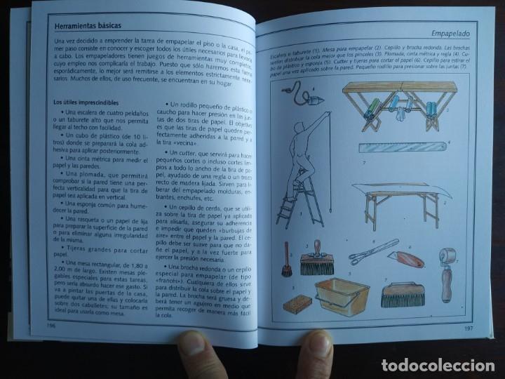 Libros: El ABC del Bricolaje en 7 capítulos albañilería, carpintería, electricidad, empapelado, fontanería, - Foto 10 - 215224322