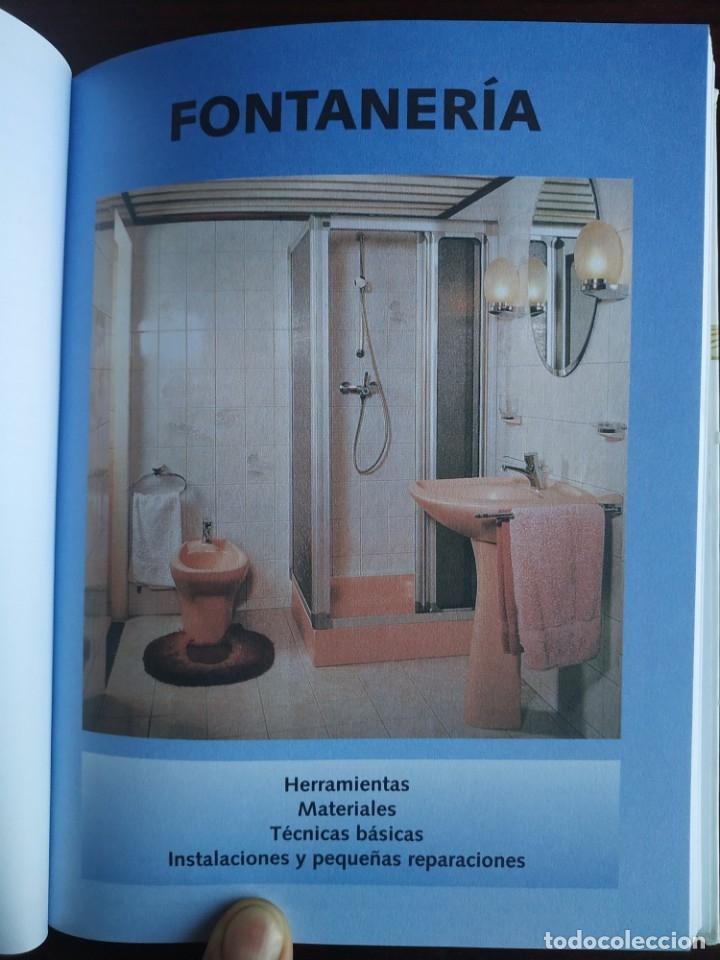 Libros: El ABC del Bricolaje en 7 capítulos albañilería, carpintería, electricidad, empapelado, fontanería, - Foto 11 - 215224322