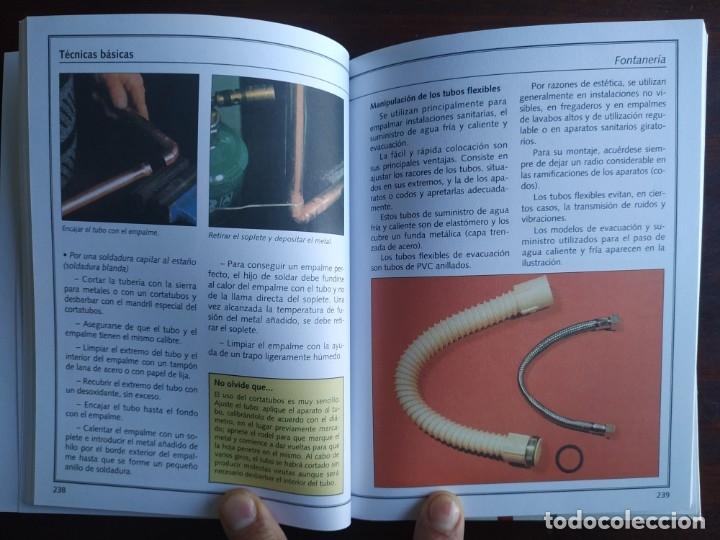 Libros: El ABC del Bricolaje en 7 capítulos albañilería, carpintería, electricidad, empapelado, fontanería, - Foto 12 - 215224322