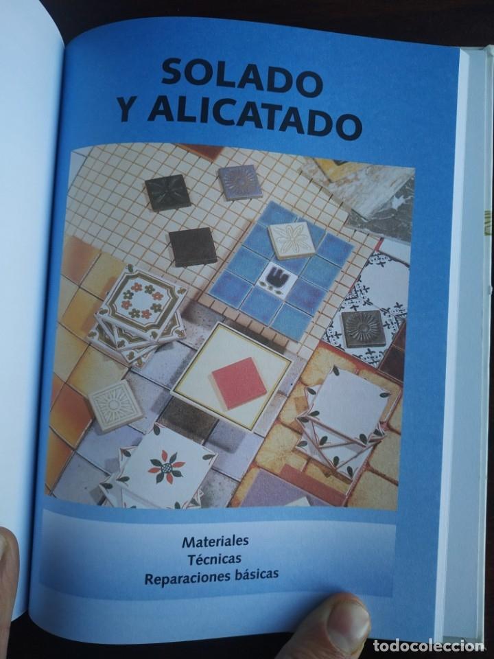 Libros: El ABC del Bricolaje en 7 capítulos albañilería, carpintería, electricidad, empapelado, fontanería, - Foto 15 - 215224322