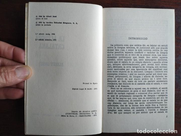 Libros: La llengua Catalana de Albert Jane l´instrument mes eficaç possible al servei de la cultura popular - Foto 2 - 183590943