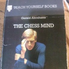 Libros: THE CHESS MIND, GERALD ABRAHAMS.. Lote 185143372