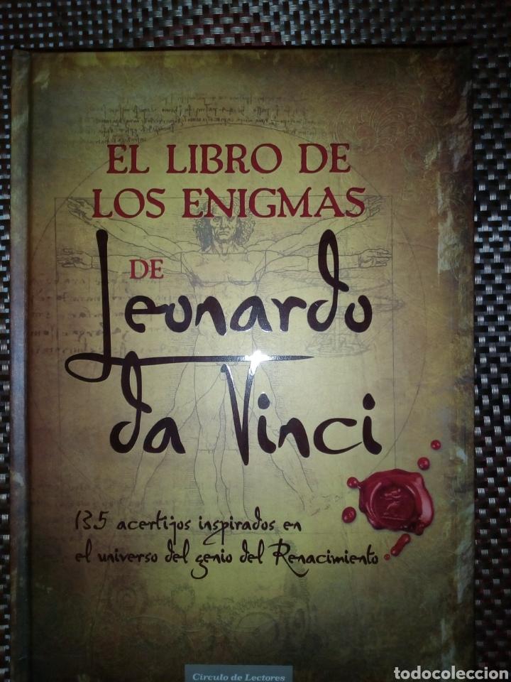 LEONARDO DA VICI - EL LIBRO DE LOS ENIGMAS (Libros Nuevos - Educación - Aprendizaje)