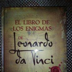 Libros: LEONARDO DA VICI - EL LIBRO DE LOS ENIGMAS. Lote 185726682