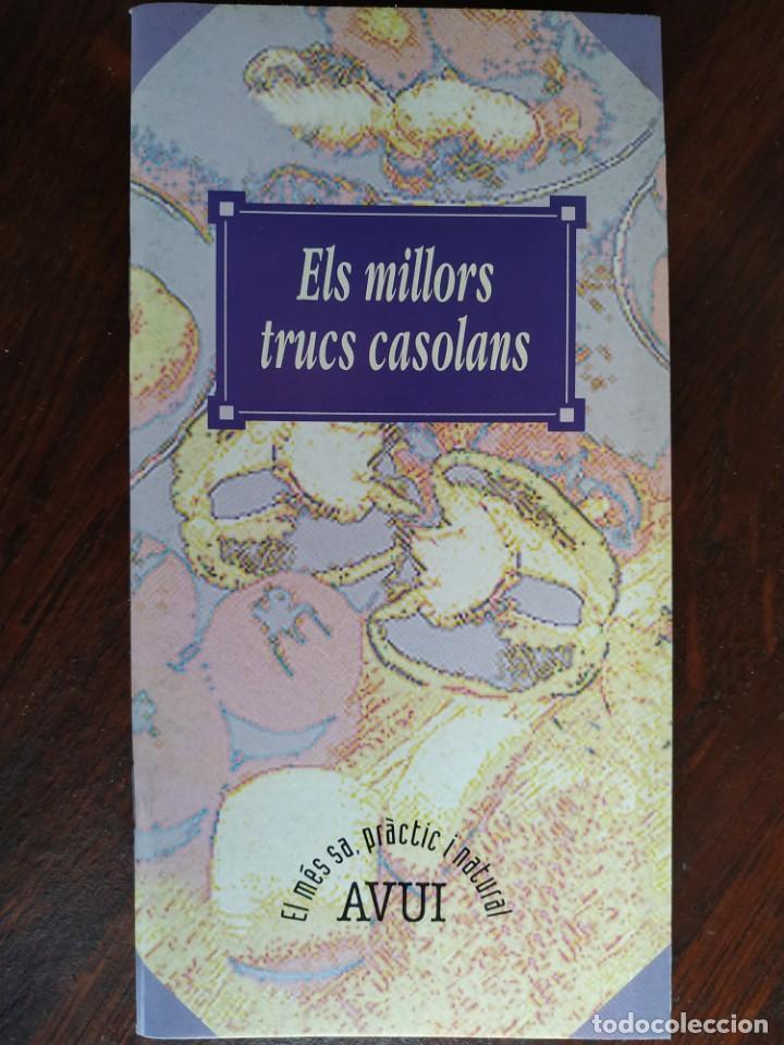 ELS MILLORS TRUCS CASOLANS, QUADERN Nº 2 DE LA COL·LECCIÓ EL MES SA PRÀCTIC I NATURAL (Libros Nuevos - Educación - Aprendizaje)