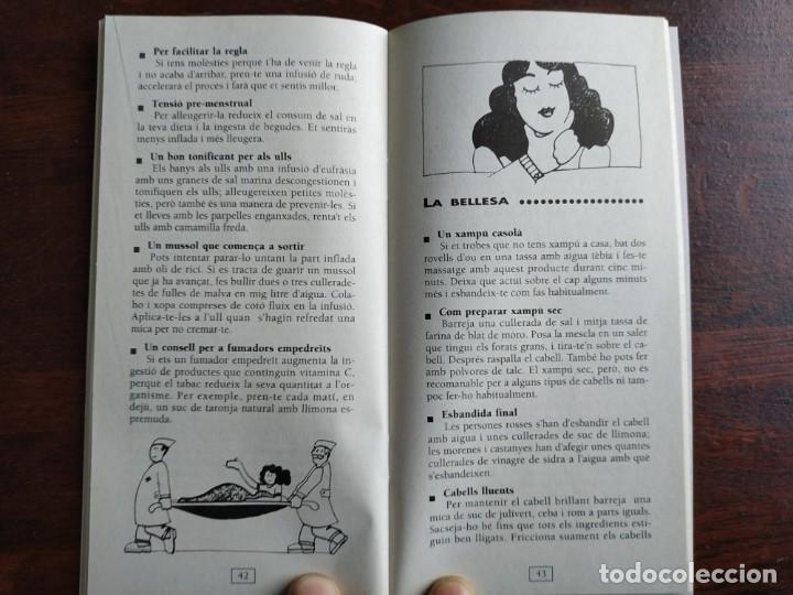 Libros: Els millors trucs casolans, quadern nº 2 de la col·lecció El mes sa pràctic i natural - Foto 4 - 186095447