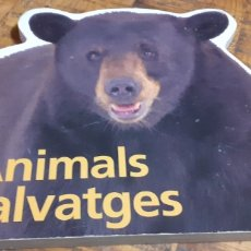 Libros: ANIMALS SALVATGES. Lote 186241456