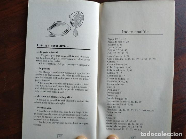 Libros: Petits grans trucs per treure totes les taques, quadern nº 11 de la col·lecció El mes sa pràctic i n - Foto 2 - 186254078