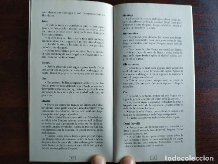 Libros: Petits grans trucs per treure totes les taques, quadern nº 11 de la col·lecció El mes sa pràctic i n - Foto 5 - 186254078