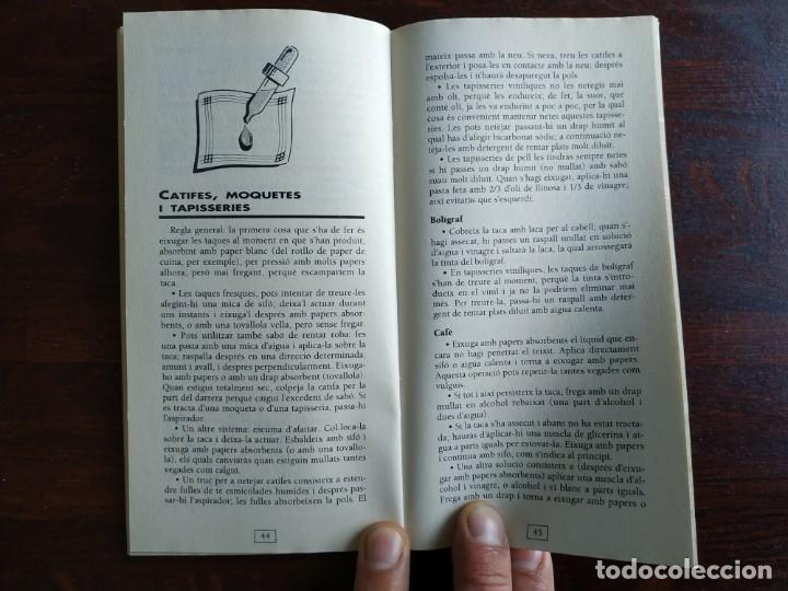 Libros: Petits grans trucs per treure totes les taques, quadern nº 11 de la col·lecció El mes sa pràctic i n - Foto 8 - 186254078