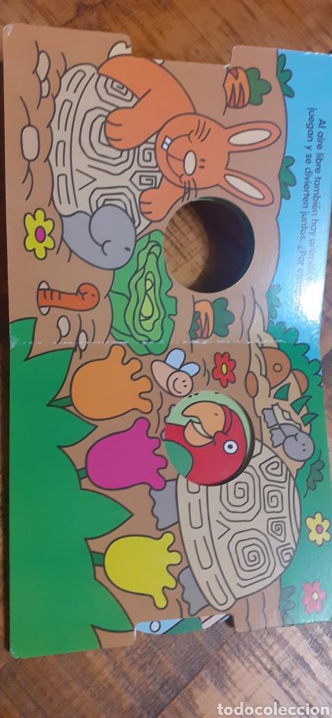 Libros: 2 LIBROS -LAS MASCOTAS - EN LA GRANJA -BUSCA Y COMPLETA - EDICIÓNES SALDAÑA - Foto 4 - 186266897