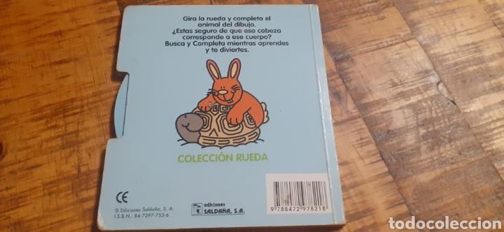 Libros: 2 LIBROS -LAS MASCOTAS - EN LA GRANJA -BUSCA Y COMPLETA - EDICIÓNES SALDAÑA - Foto 11 - 186266897