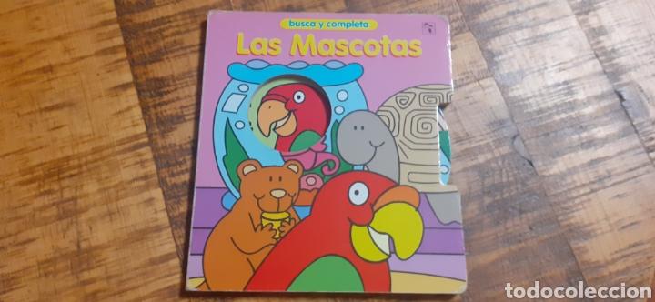 Libros: 2 LIBROS -LAS MASCOTAS - EN LA GRANJA -BUSCA Y COMPLETA - EDICIÓNES SALDAÑA - Foto 2 - 186266897