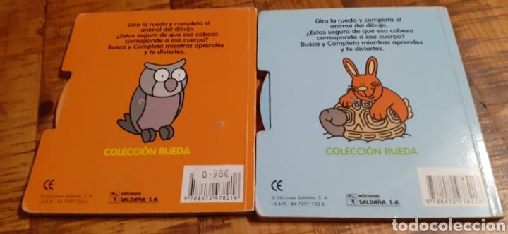 Libros: 2 LIBROS -LAS MASCOTAS - EN LA GRANJA -BUSCA Y COMPLETA - EDICIÓNES SALDAÑA - Foto 14 - 186266897