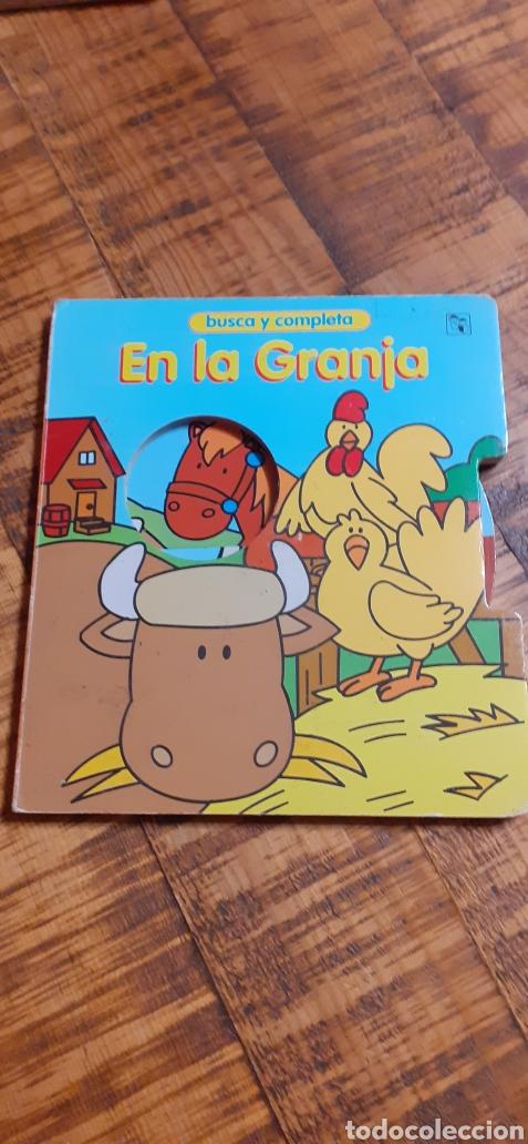 Libros: 2 LIBROS -LAS MASCOTAS - EN LA GRANJA -BUSCA Y COMPLETA - EDICIÓNES SALDAÑA - Foto 15 - 186266897