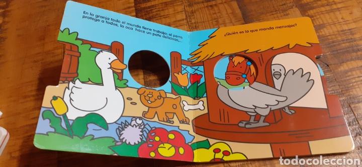 Libros: 2 LIBROS -LAS MASCOTAS - EN LA GRANJA -BUSCA Y COMPLETA - EDICIÓNES SALDAÑA - Foto 16 - 186266897