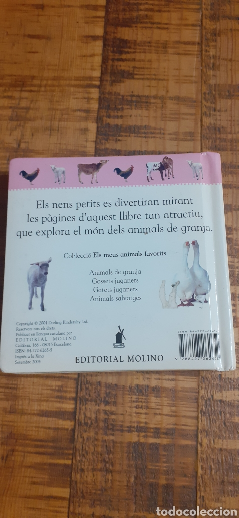 Libros: ANIMALS DE GRANJA - EDITORIAL MOLINO - Foto 10 - 186447912