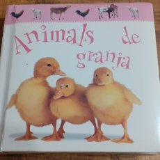 Libros: ANIMALS DE GRANJA - EDITORIAL MOLINO. Lote 186447912